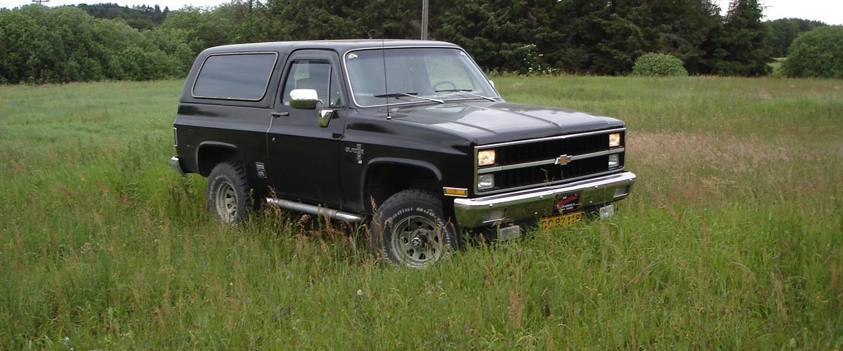 Chevrolet Blazer K5 Silverado57v8 1981 Bilen Er Til Salg