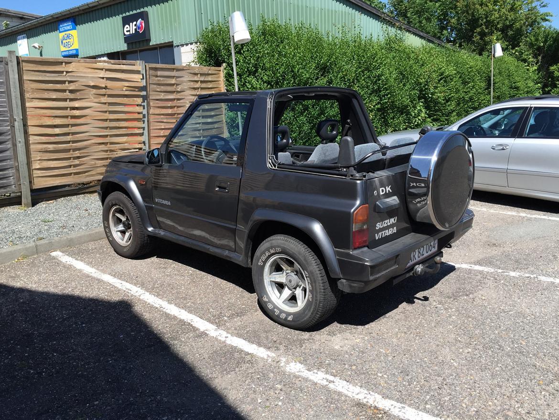 suzuki vitara 4x4 cabriolet solgt billeder af biler uploaded af martin g. Black Bedroom Furniture Sets. Home Design Ideas