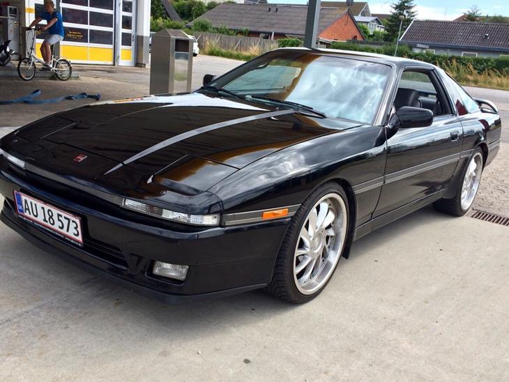 toyota supra twin turbo 2 5l 1986 bilen er over. Black Bedroom Furniture Sets. Home Design Ideas