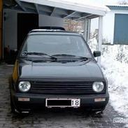 VW Golf 2 Solgt!