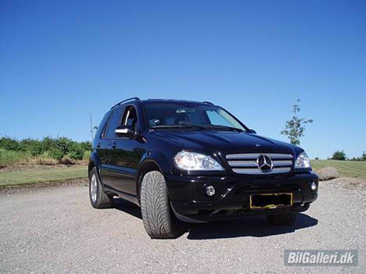 Mercedes benz ml 55 amg 2003 i fremtiden skal den for Mercedes benz ml 55