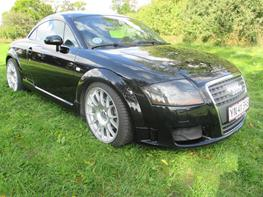 Audi tt Quattro Solgt