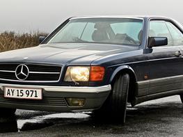 Mercedes Benz 500 sec (S-Klasse-Einspritzmotor-Coupé)