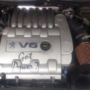Peugeot 406 3,0 V6 TS6 -- med ANGEL EYES