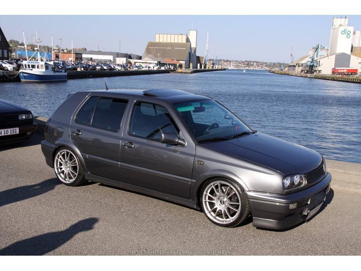 vw golf 3 vr6 turbo solgt - 1995 - bilen er synet og godkendt ti
