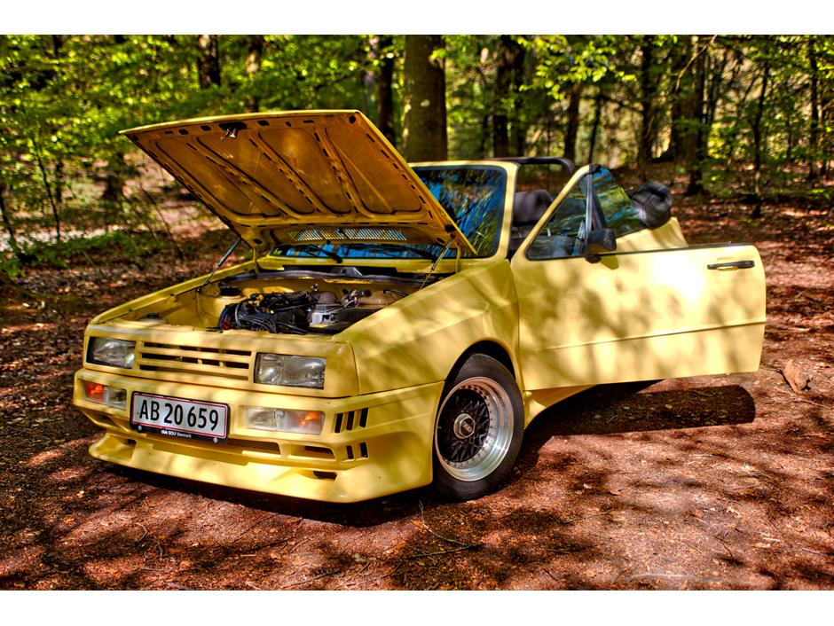 VW Golf 1 GTO Rieger cabriolet