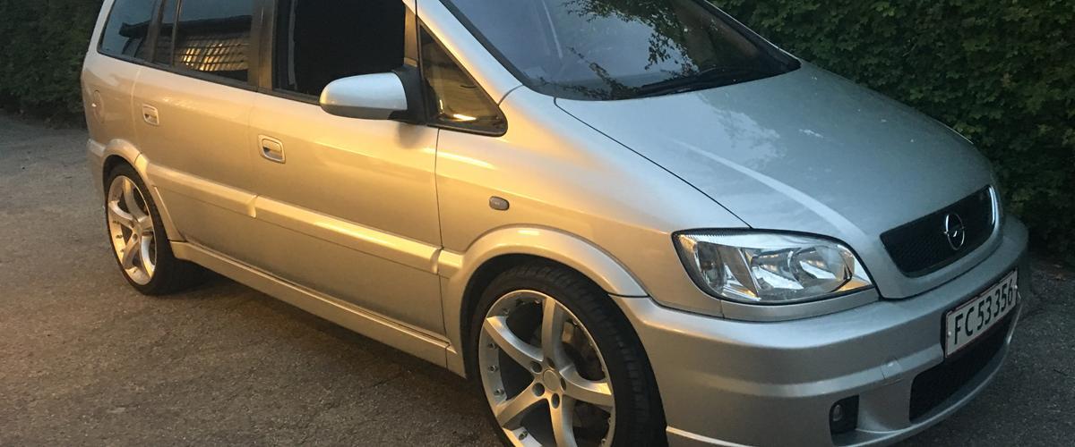 Opel Zafira a Opc - 2003 - Større turbo og mere flere ti...