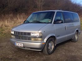 Chevrolet Astro LT ,7 pers alm hvide plader.!