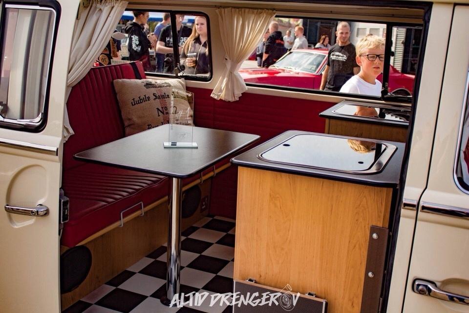 "VW T2 Deluxe Camper bus ""Ollie"" billede 31"