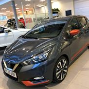 Nissan Micra Tekna Energy Orange