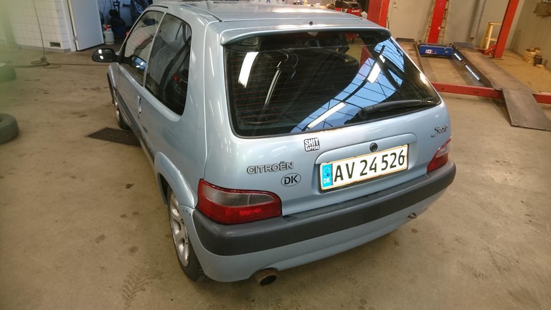 Citroën Saxo Vts 1,6 8v billede 8