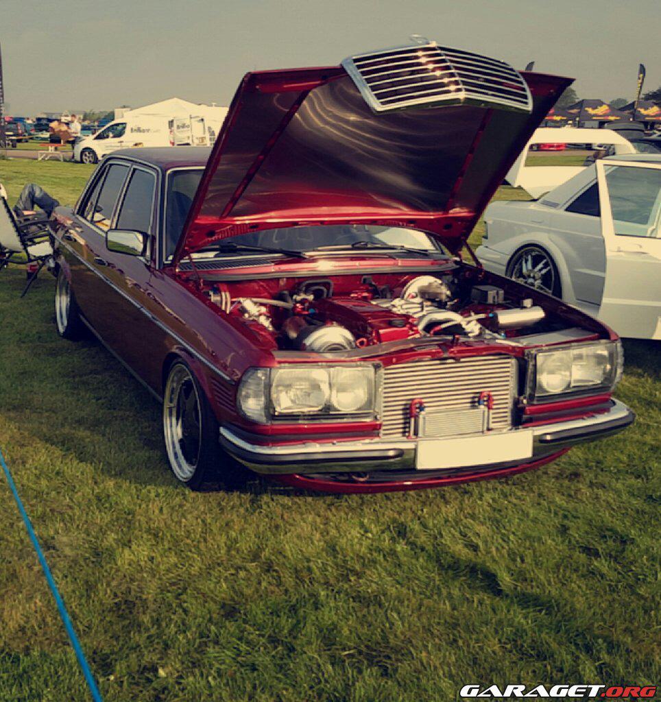 Mercedes Benz W123 billede 21