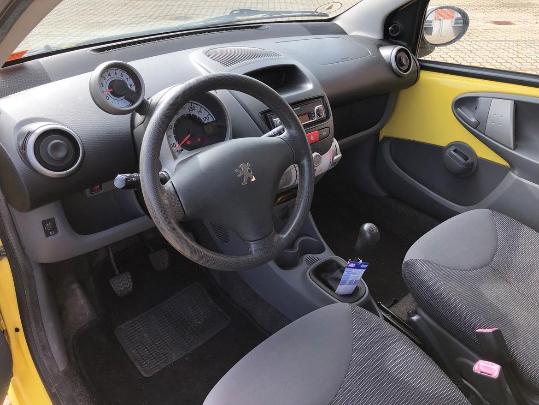 Peugeot 107 billede 5