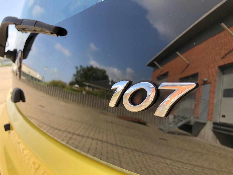 Peugeot 107 billede 15