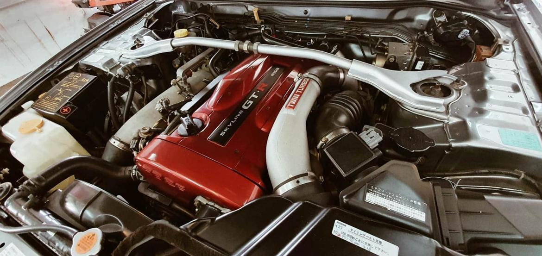 Nissan Skyline R34 GT-R V-spec II billede 13