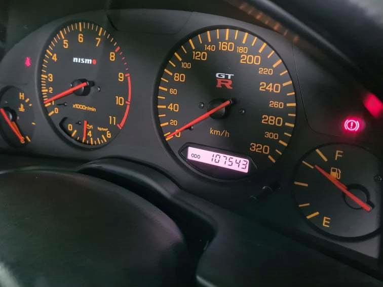 Nissan Skyline R34 GT-R V-spec II billede 5