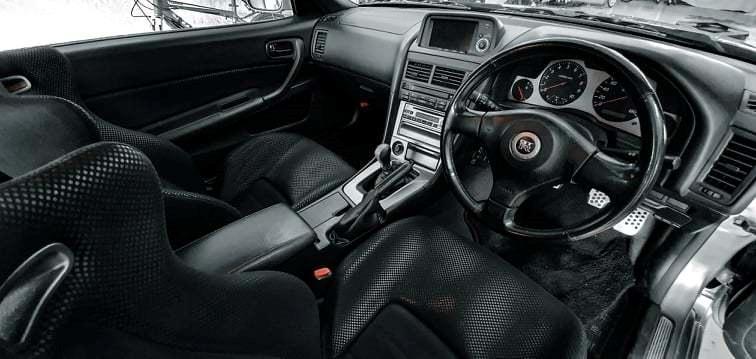 Nissan Skyline R34 GT-R V-spec II billede 6