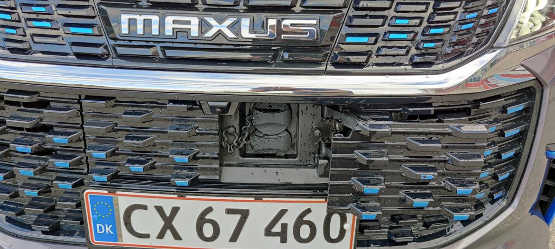 F S O Maxus Euniq - Type 2 / CCS port i forkofanger billede 14