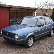 VW Golf 2 - Total Skadet