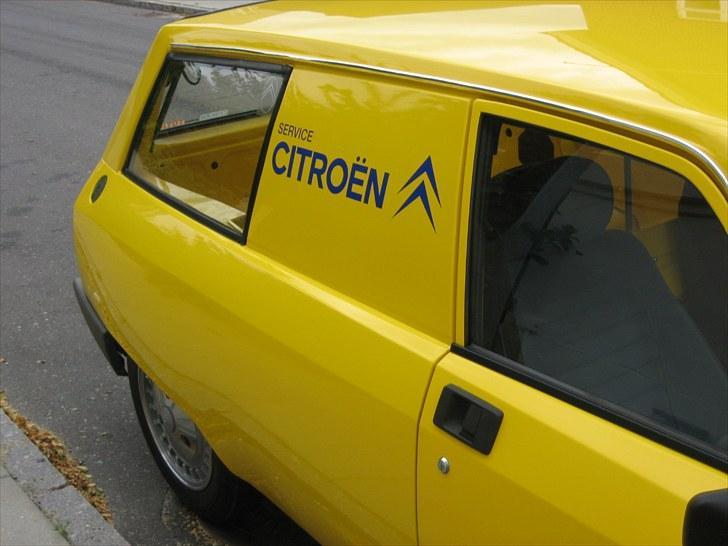 Citroën GSA Entreprise Spécial - Ruden i siden er en original rude fra en break. Den er eftermonteret i Danmark. billede 2