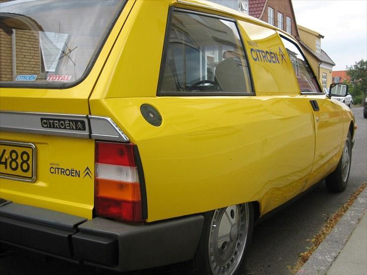 Citroën GSA Entreprise Spécial - Bilen er baseret på en GSA Break (STC) dog er der ingen bagdøre, og det er det der gør den sjælden billede 3