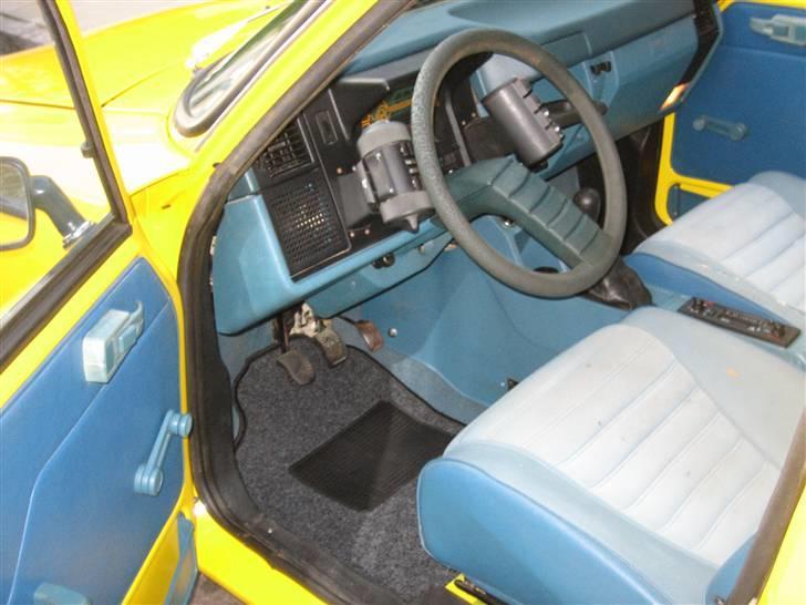 Citroën GSA Entreprise Spécial - Blå interiør. 80´er retro. billede 6