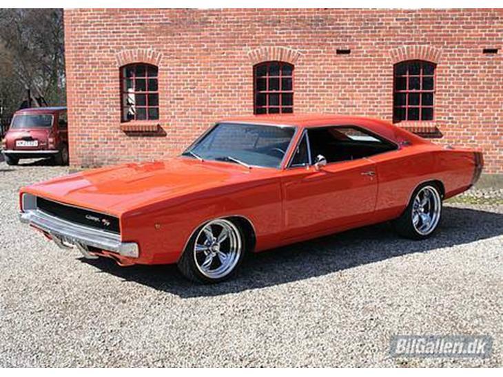 Dodge Charger 1968 Jeg Har Skiftet Min Camaro Ud