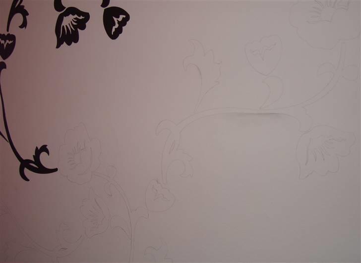 Gamle møbler laves om   vægmaleri   soveværelse   fotos fra josefine k