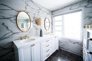Vælg det rigtige spejl til badeværelset