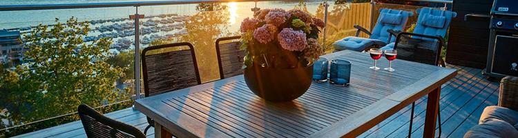 Sådan indretter du den perfekte terrasse