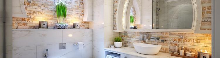 Sådan indretter du et moderne og hyggeligt badeværelse