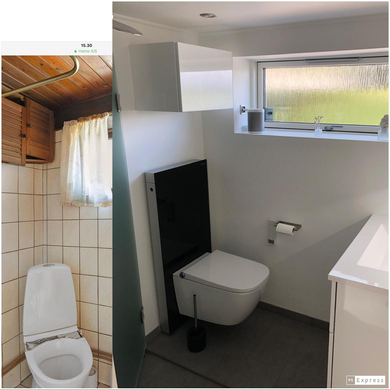 Villa Sjælland. 63m2.  Langt ude på landet...... :-) - Billeder fra august 2018 og fra august 2019.... Lidt er der da sket....  billede 19
