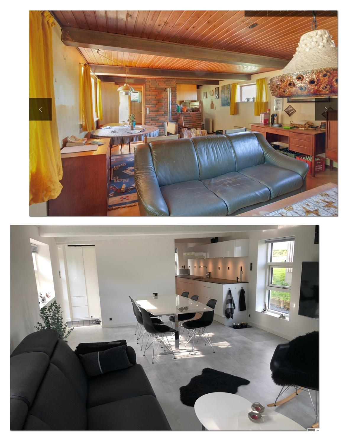 Villa Sjælland. 63m2.  Langt ude på landet...... :-) - Billeder fra august 2018 og fra august 2019.... Lidt er der da sket....  billede 27