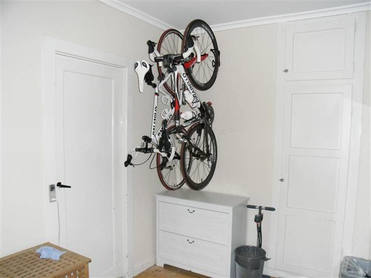 Ophæng til cykel thansen