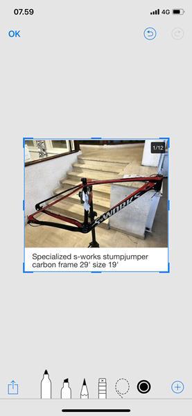 Specialized s works ramme
