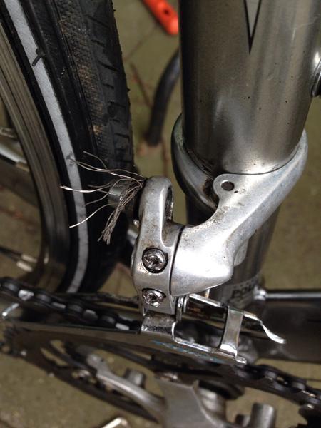justering af gear på cykel