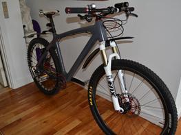 Giant XTC advance carbon 69'er Custom