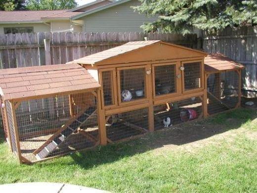 kaninbur udendørs til salg