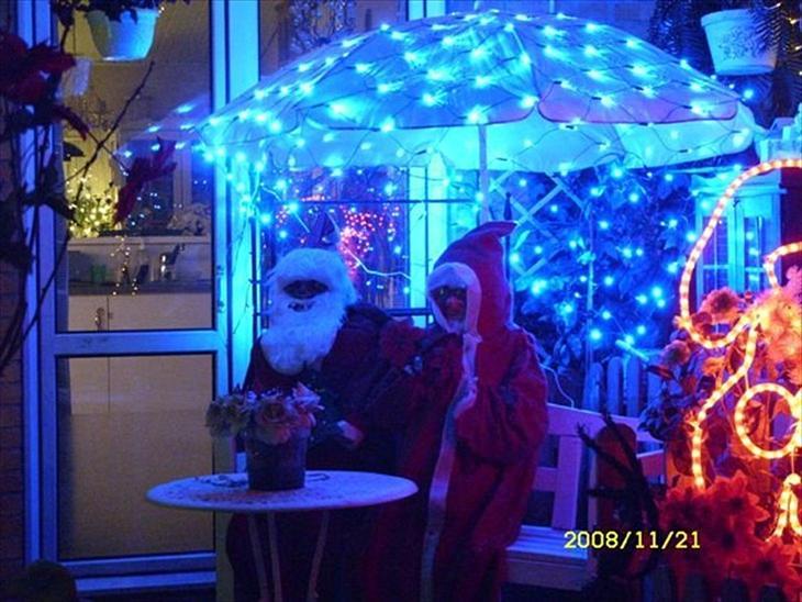 Hygge i vinter  jule  haven/ terrasse   diverse have   uploadet af ...