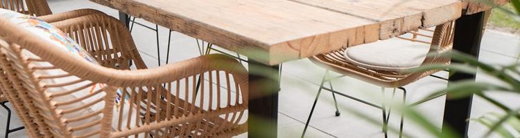 Havemøbler der indbyder til hygge