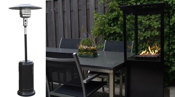 Hygge på terrassen - hvilken terrassevarmer?