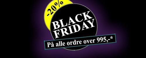 Er du klar til Black Friday ?