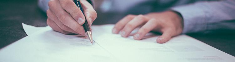 Få hjælp til juridiske dokumenter