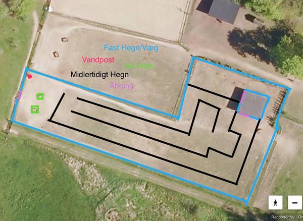 GPS Tracking af hesten