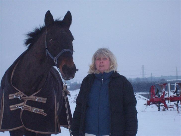 Oldenborg Amandus Odderbjerg - Himmelhest - Her er vi så, Amandus og jeg.