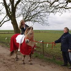 Fjordhest Siri Kaptain (stjernen) (  var min låne Hest)<3