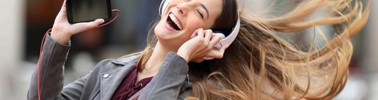 Er dit mobilabonnement gearet til at streame musik?
