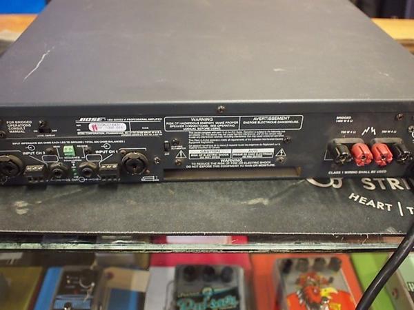 Denon 2310 og bose effektforstærker
