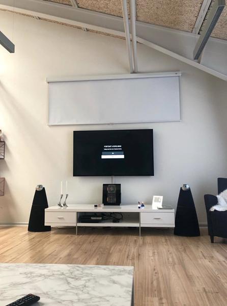 Skift mellem tv og hjemme biograf