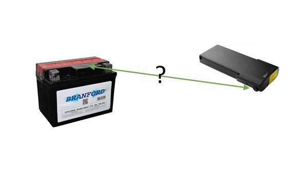 Batteri til at oplade elcykel batteri